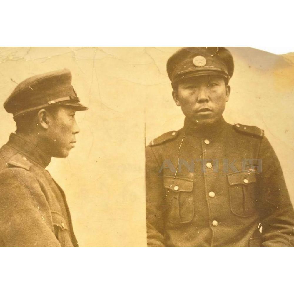 Фотокарточка с японским пленным офицером